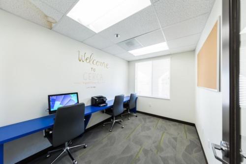 student computer room