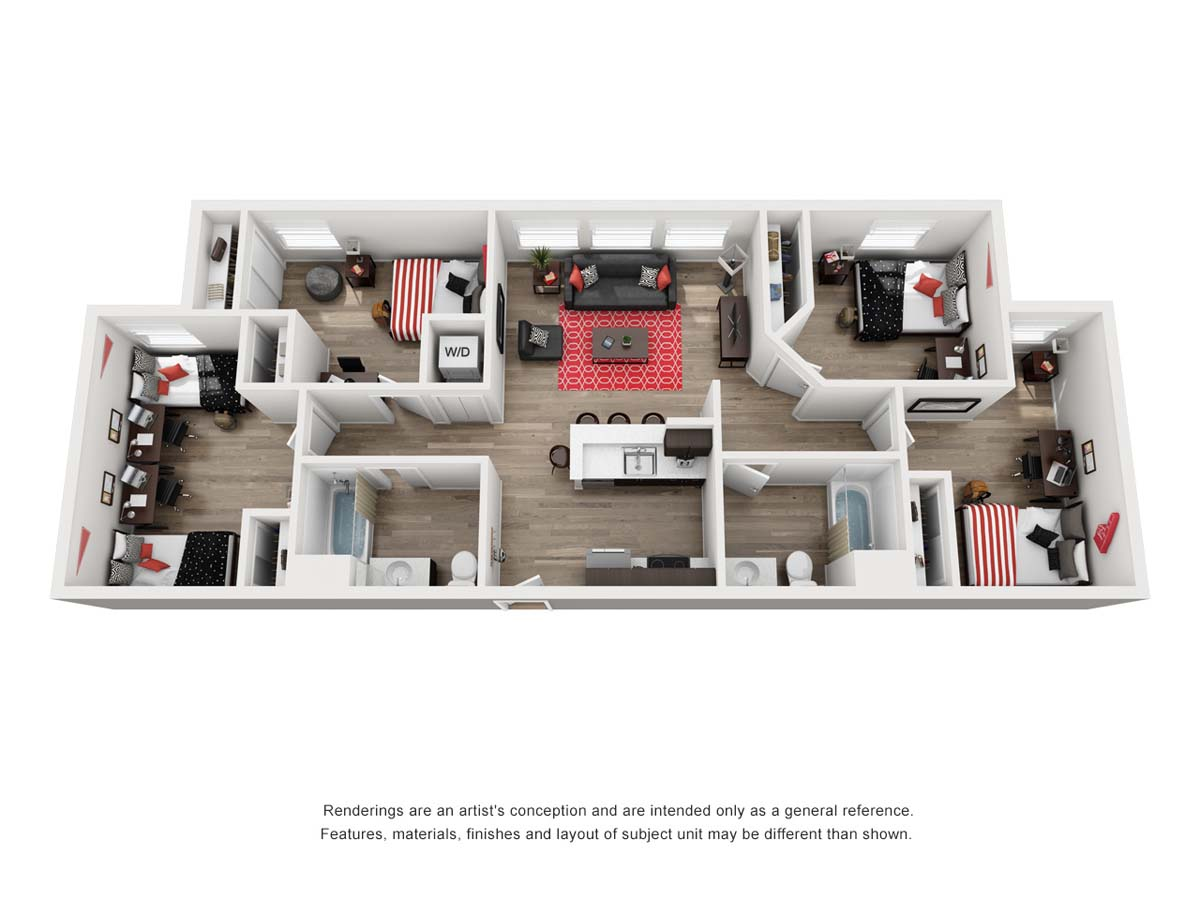 PRISMA Vista floor plan AR