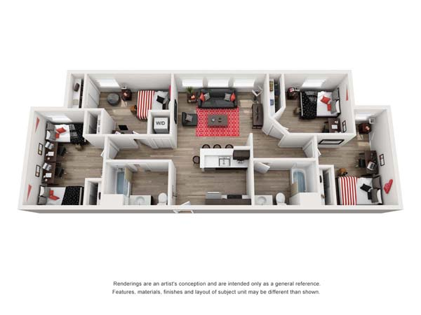 PRISMA Vista, floor plan AR