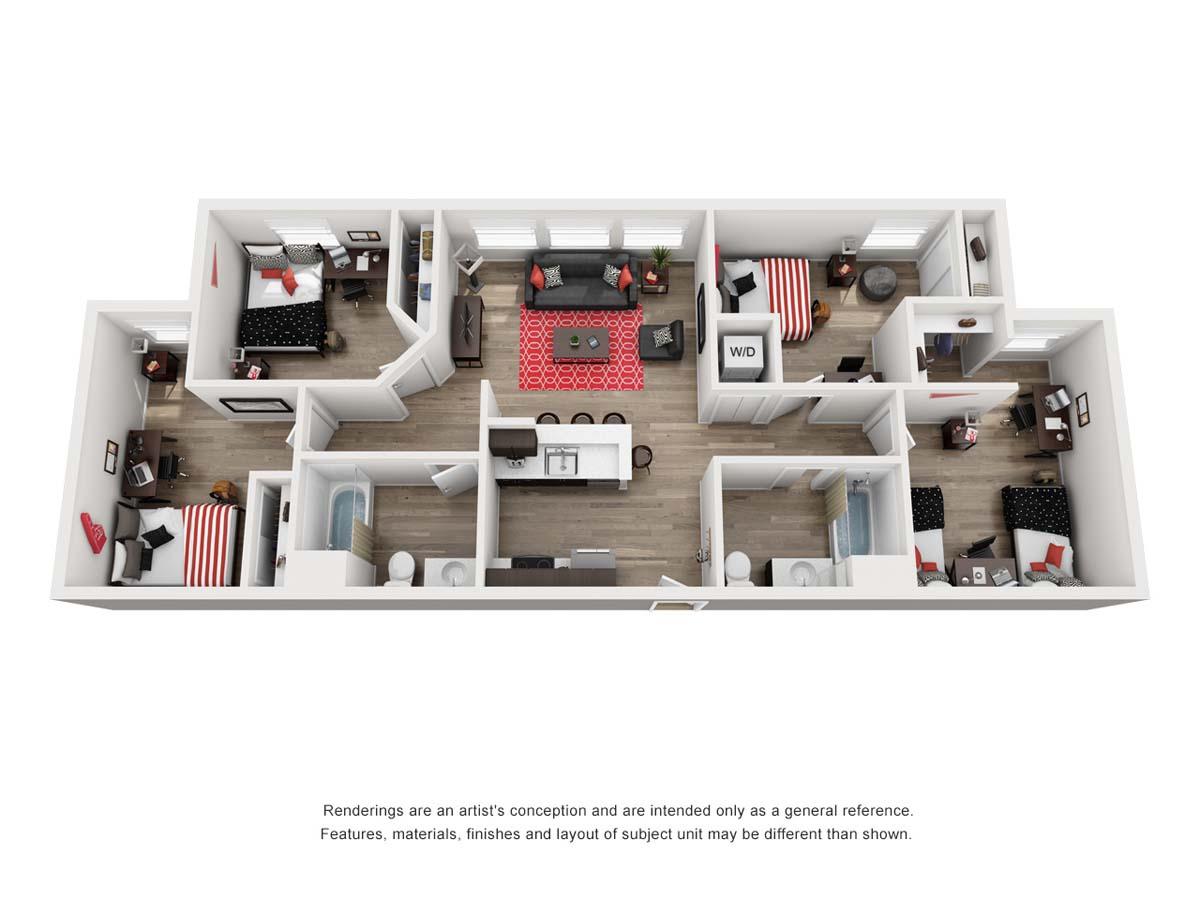 PRISMA Point floor plan A