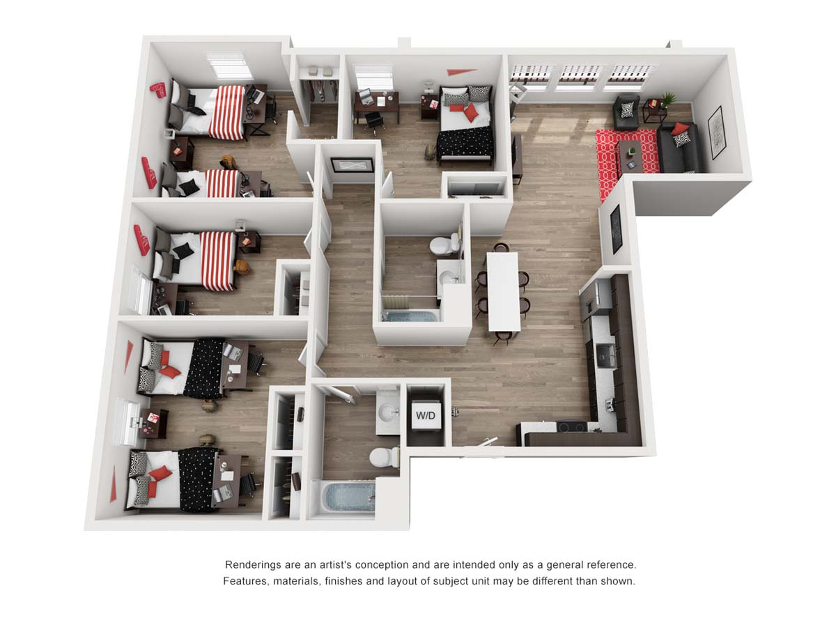 Prisma View floor plan B1