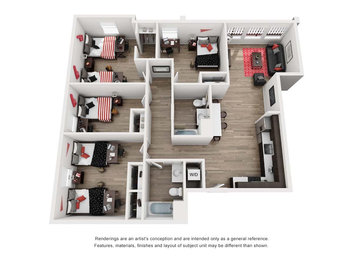 PRISMA Pano, floor plan B