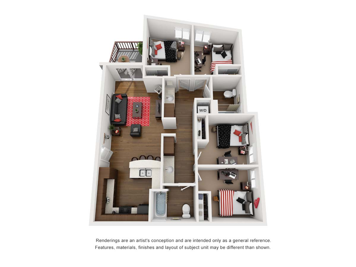 ZUMA floorplan 2, Chile