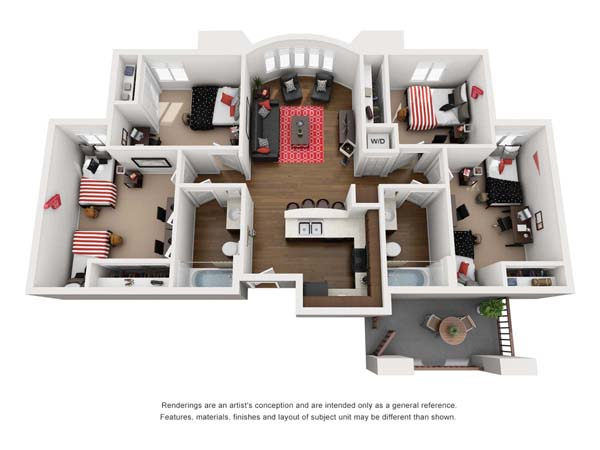 Floorplan 4, Molé