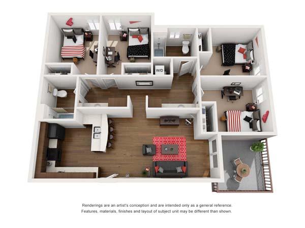 Floorplan 4, Chia