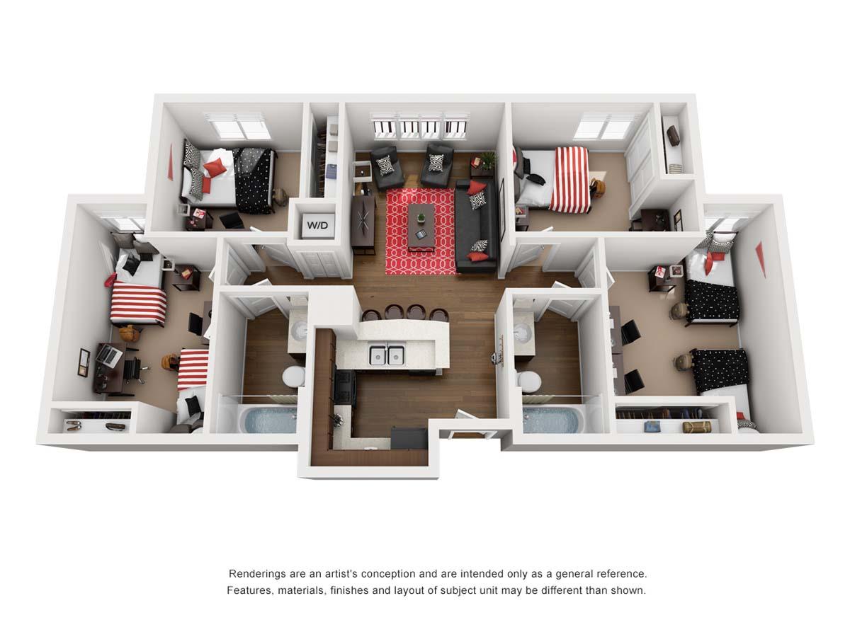 ZUMA floorplan 6, Agave